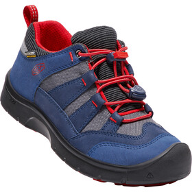 Keen Youth Hikeport WP Shoes Dress Blues/Firey Red